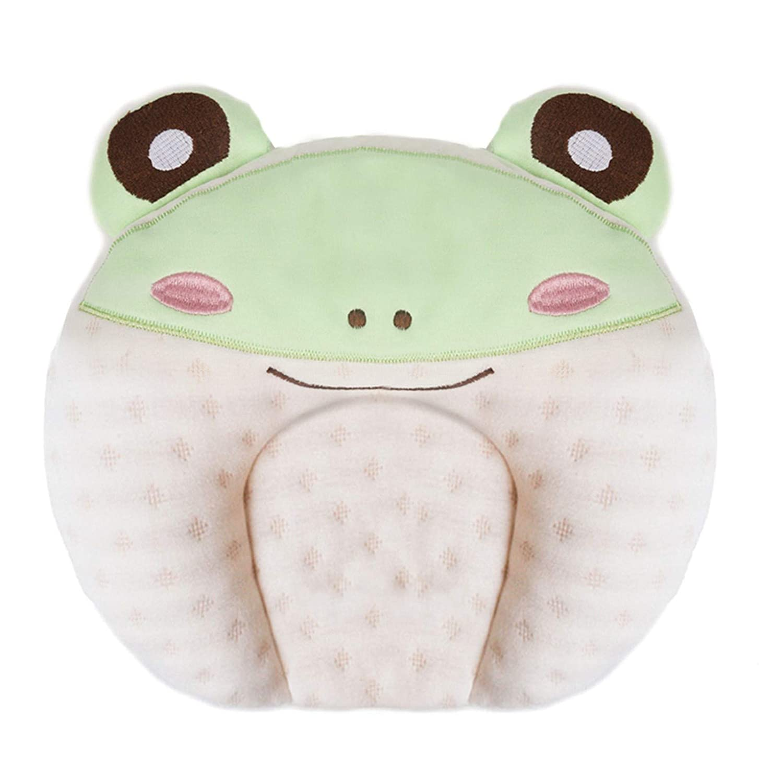 BORITAR Soft Baby Pillows Newborns Head U Shaping Flat Head Pillows Nursery Pillows Infant Support Sleeping Breathable Pillows Rabbit