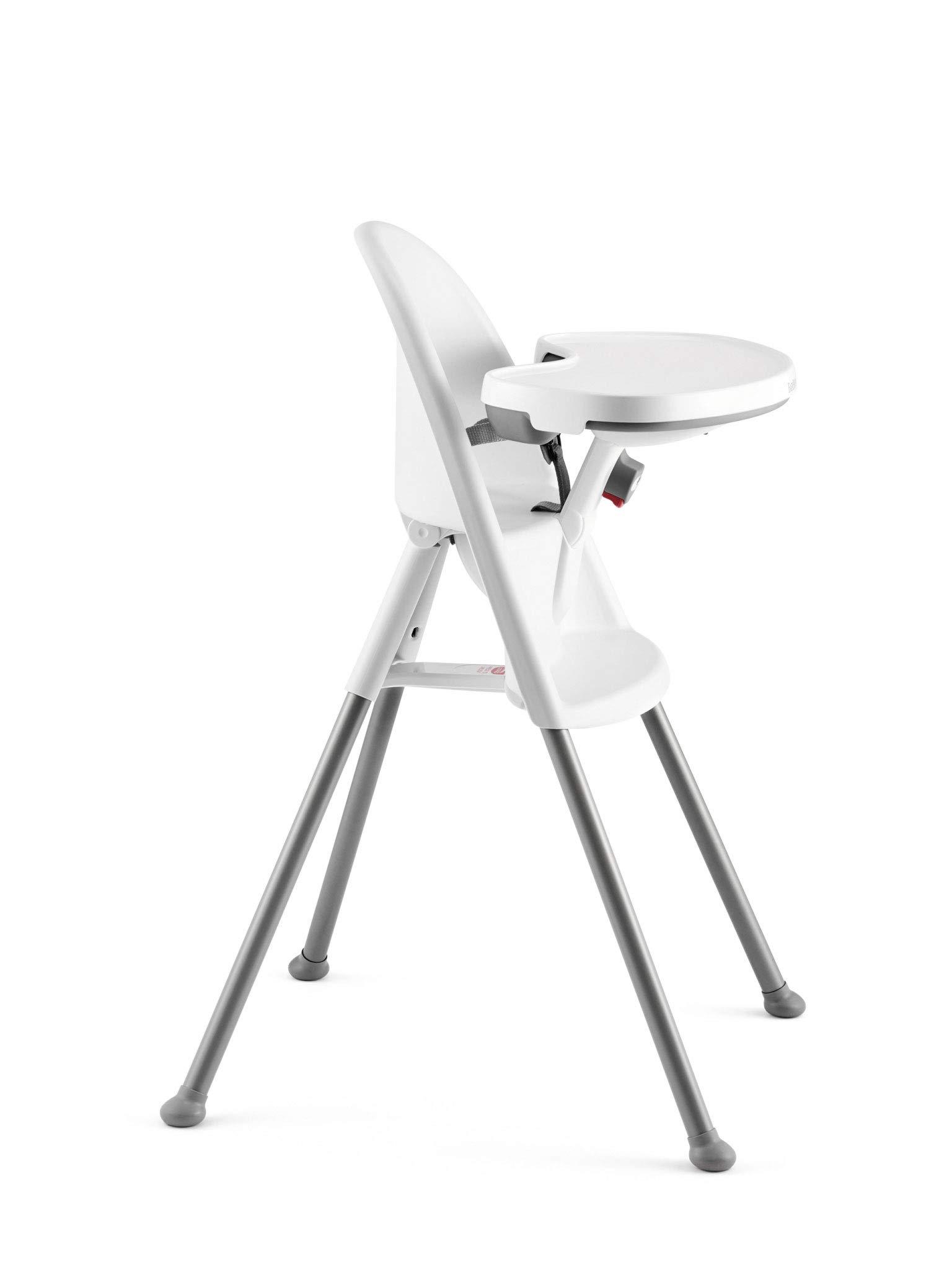 BabyBjörn 067221US High Chair, White/Gray by BabyBjörn