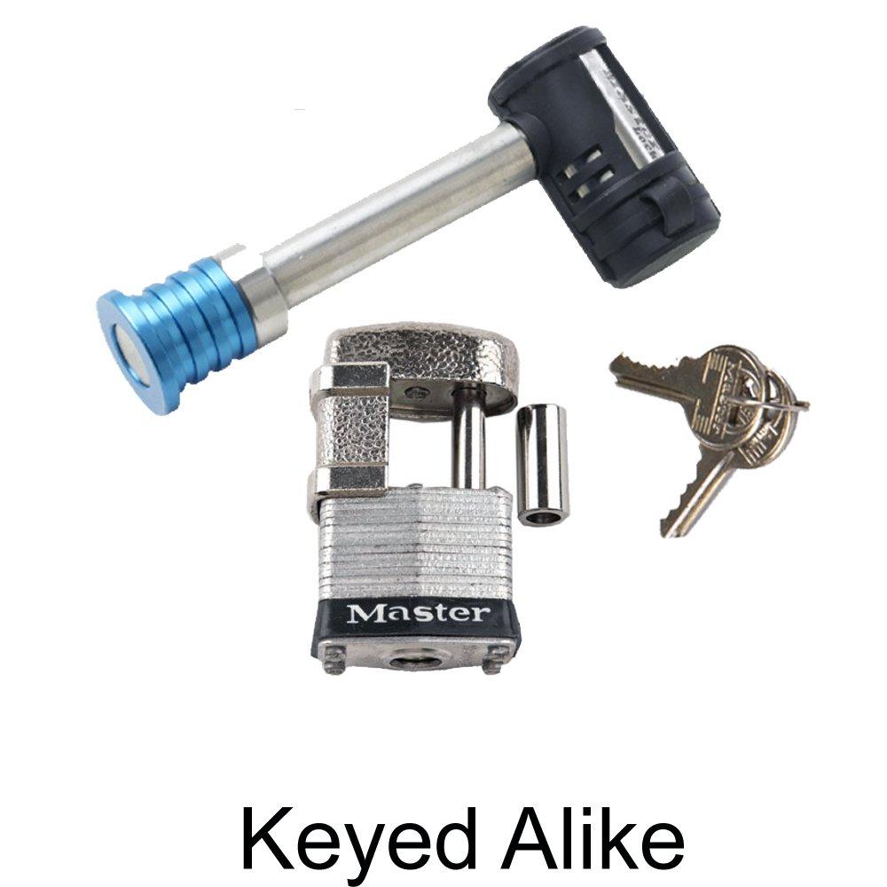 Master Lock - 2 Trailer Locks Keyed Alike #2KA-1480-37 Package Deals-Master Trailer Locks-2