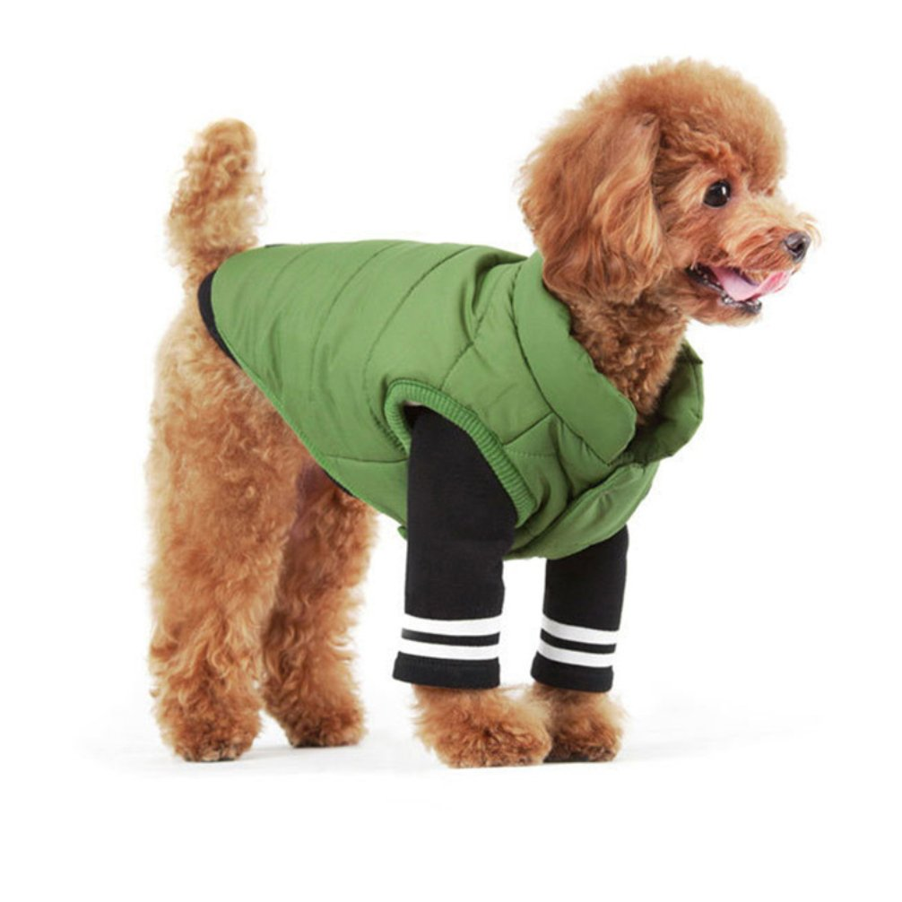 Be Good Pet Cloth Soft Fleece Dog Vest Coat for Dog Cat Small and Medium Animals S/M/L/XL