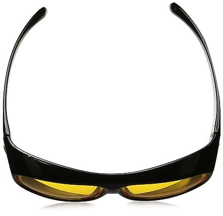 ec87d1a26151 Amazon.com  HD Night Vision Wraparounds Wrap Around Glasses  Sports    Outdoors