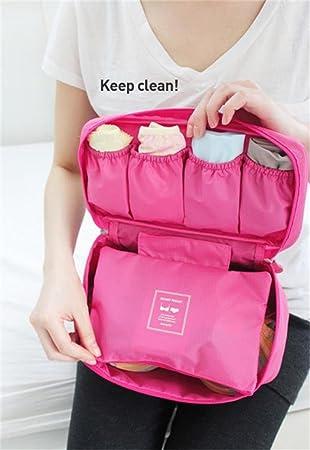 Viajes sujetador de ropa interior bolsa de almacenamiento organizador calcetines calzoncillos separador: Amazon.es: Juguetes y juegos