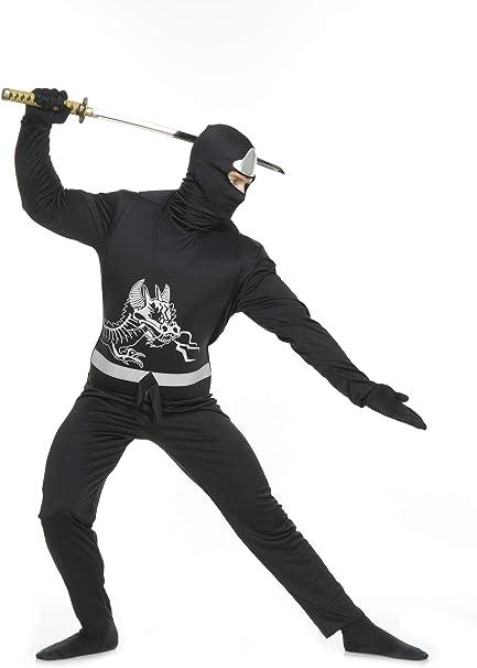 Amazon.com: Black Ninja Avengers Series II Adult Costume ...