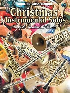 Christmas Instrumental Solos - Trumpet Level 2-3. Partituras, CD para Trompeta