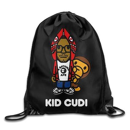 Drawstring Backpack Bag Kid Cudi Bape Baby Milo