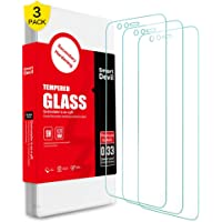 SMARTDEVIL 3 Pack Screen Protector Foils for Oneplus 5T Protective Tempered Glass Film for 6.01 Inch Screen with Installation Tool, High Definition,9H Hardness Support Shockproof Anti-Scratch
