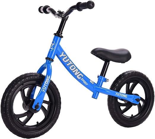 Bicicletas sin pedales Bicicleta de Equilibrio para niños y niños ...