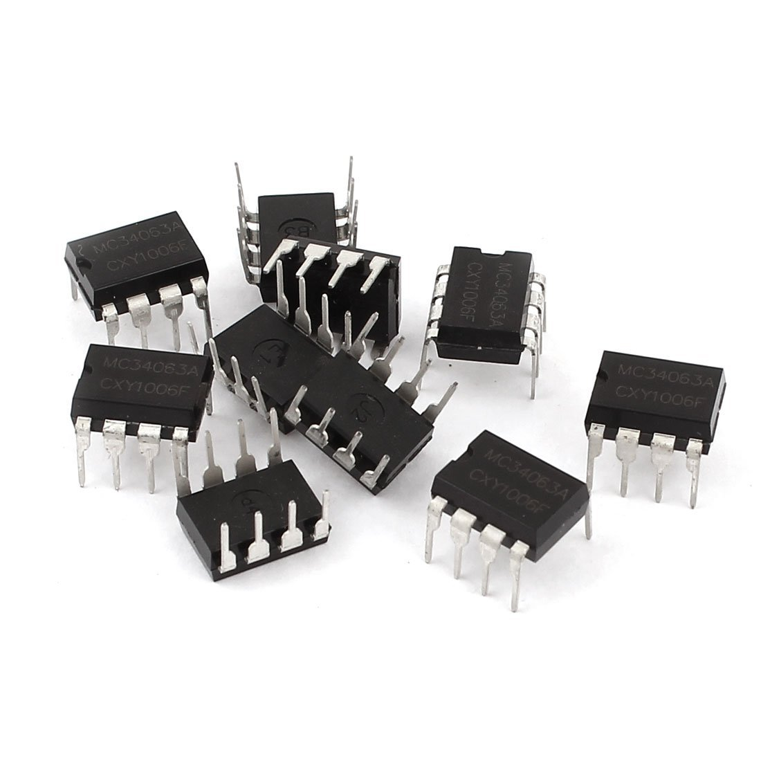 10 Pcs Mc34063a Dip 8 Dc Voltage Converter Control Circuits Ic The Stepup 15a Business Industry Science