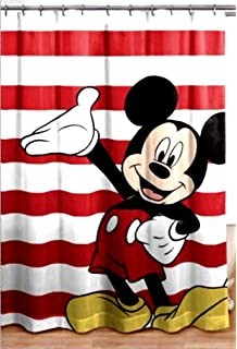 Franco Mickey Mouse Shower Curtain