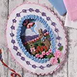 Bucilla Felt Applique Wall Hanging Kit, 86727 Sugared Easter Egg