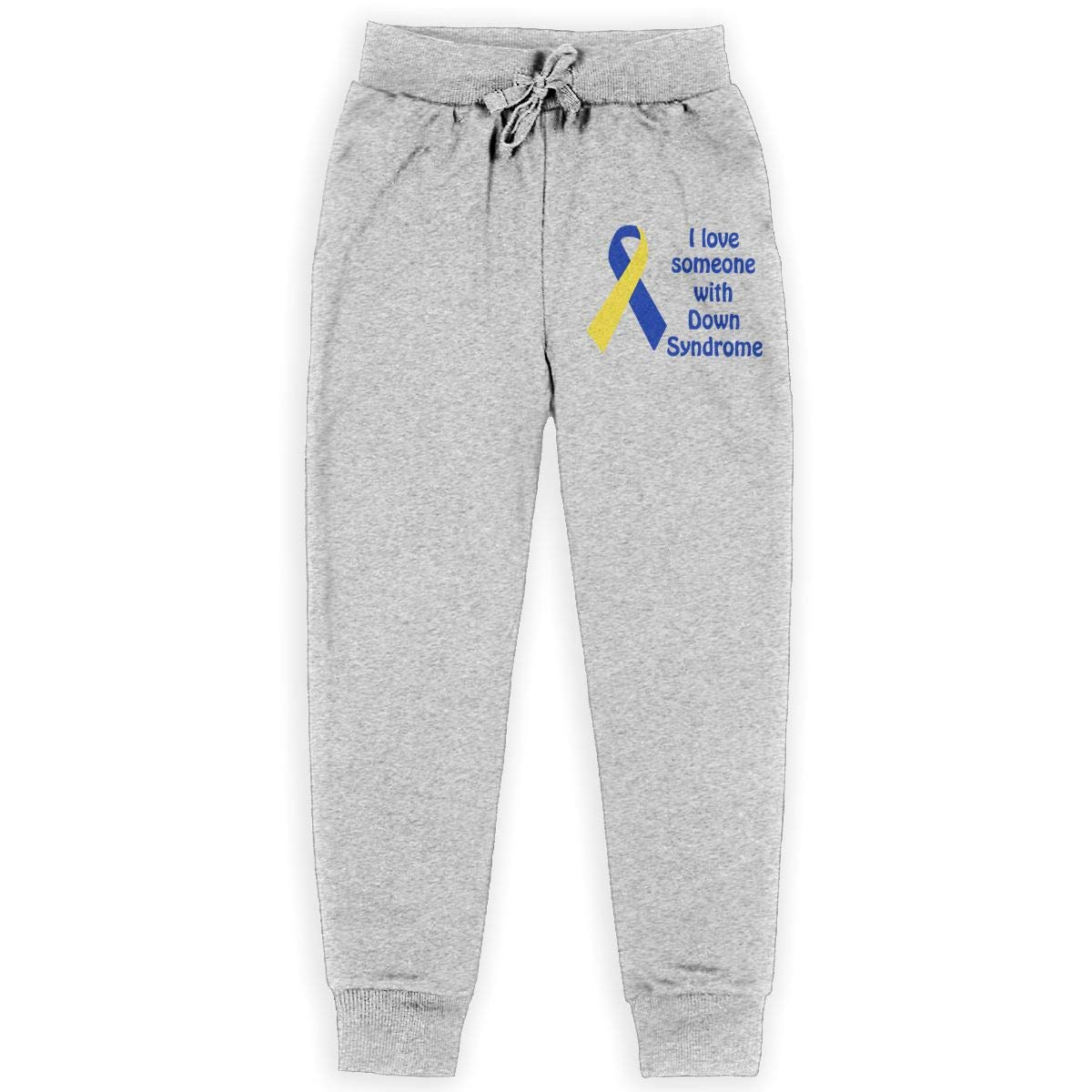 Boys Sweatpants I Love Someone Down Syndrome Active Pants