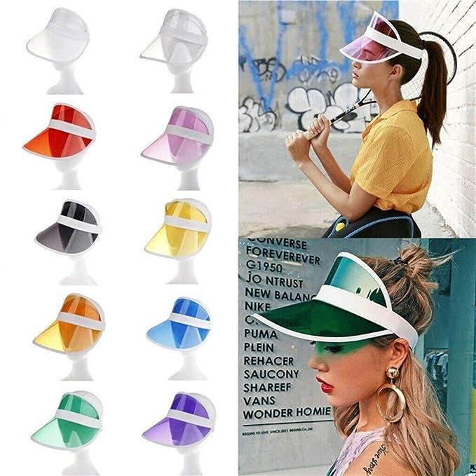 Verano Unisex Mujeres Hombres Sombrero For El Sol Color De ...