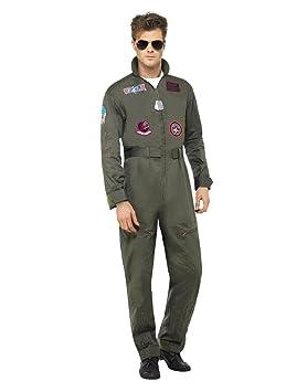 acheter pas cher mode 50-70% de réduction Top Gun Costume combinaison Costume de luxe pour homme ...