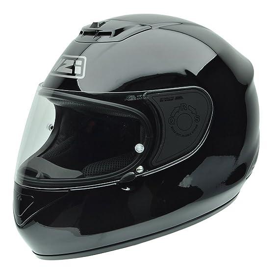 Amazon.es: NZI 010265G047 Spyder V Black Casco de Moto, Negro, Talla 58-59 (L)