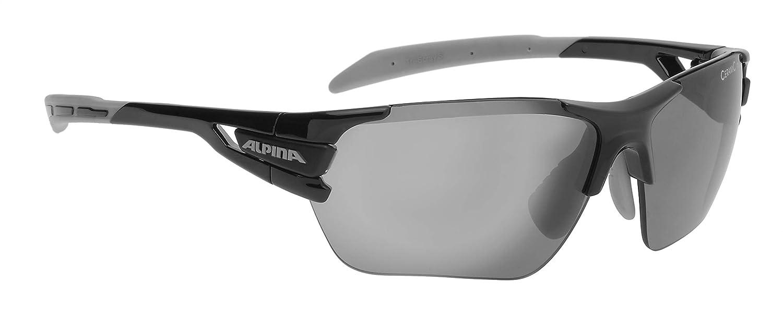 Alpina Erwachsene Campiglio Fahrradhelm, schwarz-Grau, One Größe