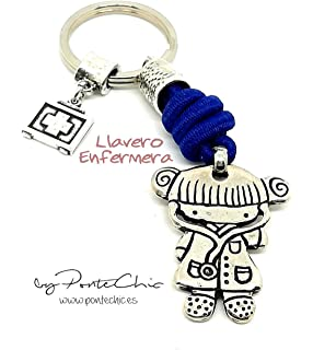 Llavero ENFERMERA (Temática Profesiones): Amazon.es: Handmade