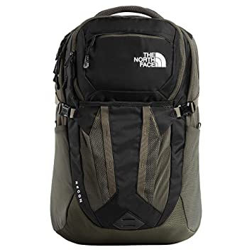 The North Face Recon Mochila, TNF Black/New Taupe Green, One Size: Amazon.es: Deportes y aire libre