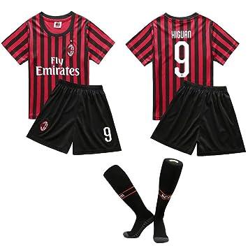 DIANDIAN Camiseta de fútbol No. 9 Uniforme De Fútbol Traje ...