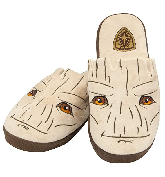 8d8f4f6ded99 Image Unavailable. Image not available for. Color  Marvel Comics Guardians  Of The Galaxy Groot Slip On Slippers