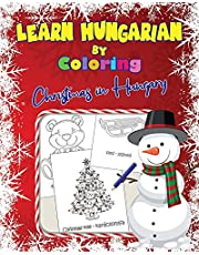 Learn Hungarian by Coloring: Christmas in Hungary