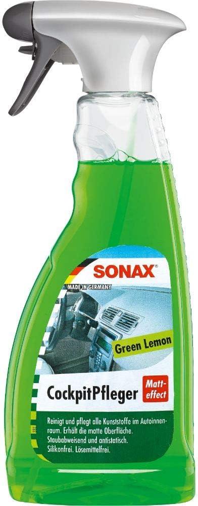 Sonax Cockpitpfleger Matteffect Green Lemon 500 Ml Reinigt Und Pflegt Alle Kunststoffteile Im Auto Art Nr 03582410 Auto