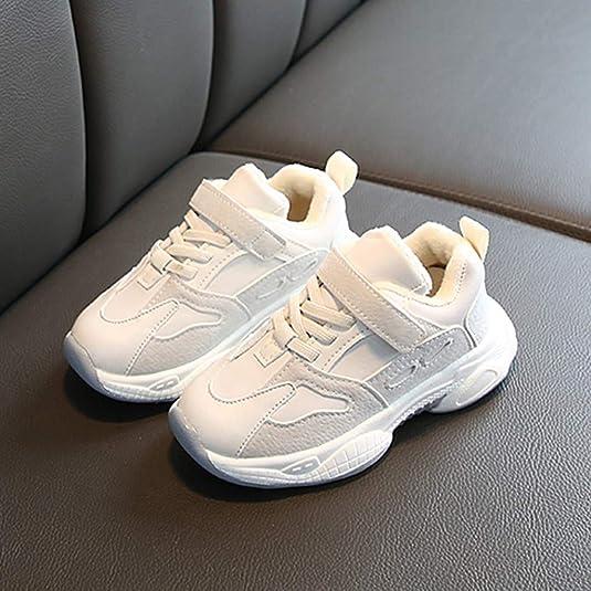 SO-buts Recién Nacido Infantil Bebés Niña Parche Cálido Zapatillas Deportivas Zapatos Casuales Zapatos para Correr Zapatos De Tobillo: Amazon.es: Zapatos y complementos
