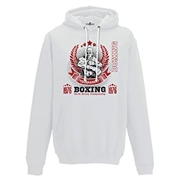 Sweat Boxing 2 Boxer Capuche Tournament Champion World Boxe Sport r8FrEwqWP