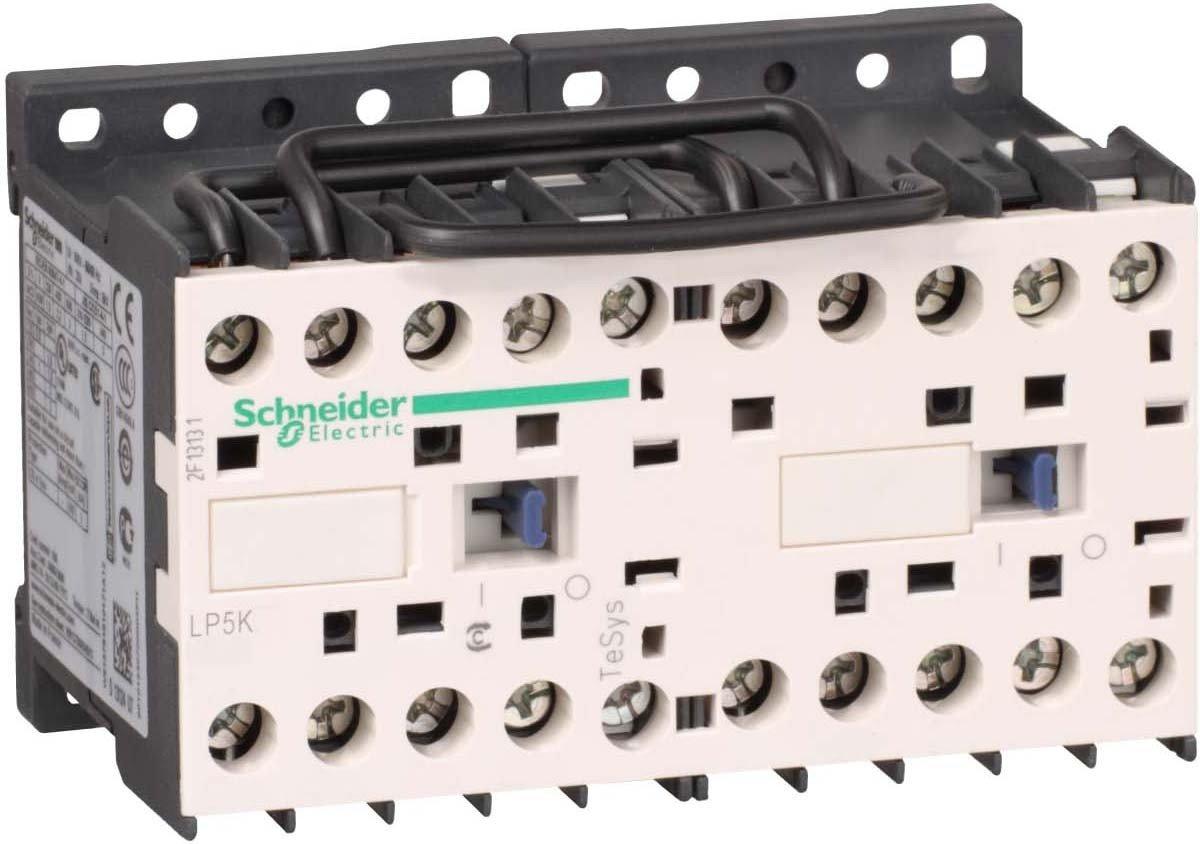 Schneider Electric LP5K0610BW3 Contactor Inversor 3P Ac-3 <=440 V, 6 A Bobina 24 V Cd
