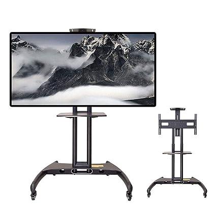 Carrelli Porta Tv Lcd.Kbkg821 Carrello Porta Tv Da Pavimento Regolazione Altezza