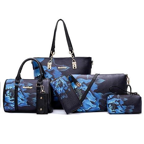 6b1d556ab1 Borsa a tracolla da viaggio per borse da donna stampa Pelisy (set 6 ...