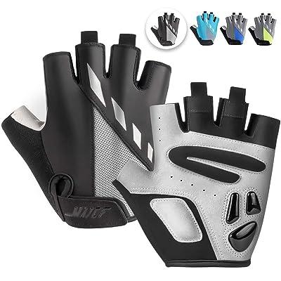 Cycling Gloves Half Finger Warm Breathable Anti Slip Pad MTB Bike Bicycle Racing
