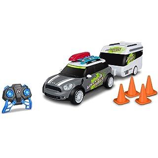 Van Der Meulen Rc Auto Nikko Mini + Caravan 0382165, Multicolore, 893047