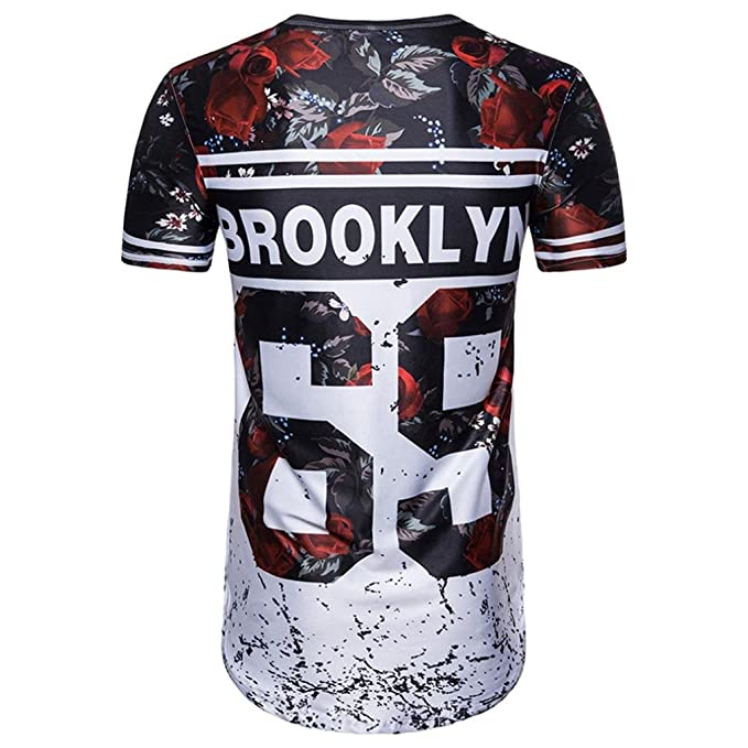 Camisetas, ❤ ⚽️Ba Zha Hei Número 69 de Verano Casual Camisas De Hombre de Moda Ajustado Camisetas de Hombres 3D Camiseta Fútbol Impresión Manga Corta ...