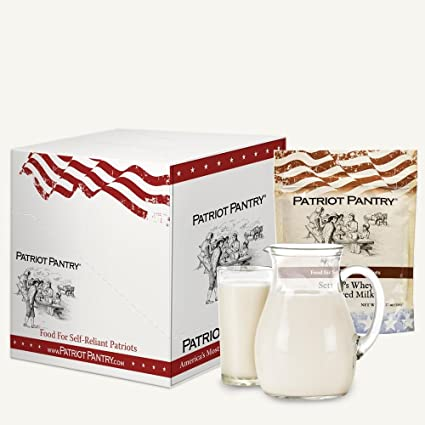 Amazon.com: Patriot Pantry - Estuche de leche en polvo (96 ...