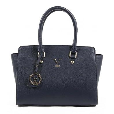 0128331ea3ab Versace 19.69 Abbigliamento Sportivo Srl Milano Italia Womens Handbag VE07  NAVY BLUE