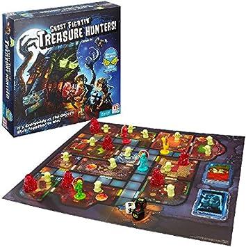 Mattel Games Ghost Fightin' Treasure Hunters, Gioco da Tavolo per Famiglie, Multicolore, FBH20