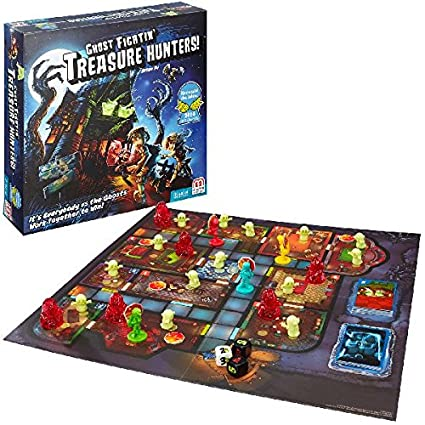 Ghost Fightin' Treasure Hunters Cooperative Strategy Game by Mattel