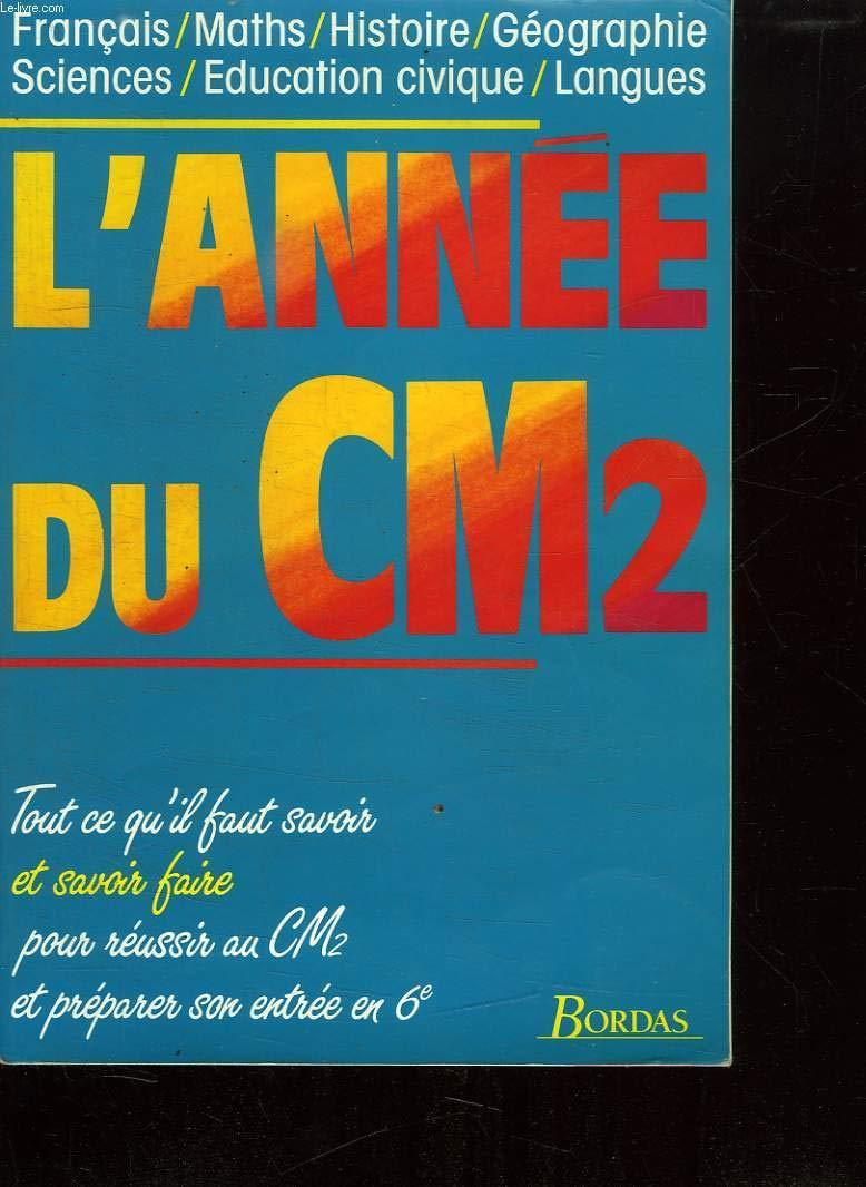 Annee Du Cm2 L Collectif Bordas 9782040208110 Amazon