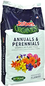 Jobe's Organics 09623 Annuals & Perennials Granular Plant Food, 16 lb
