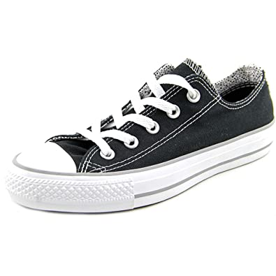 d82ecd5d25a672 ... discount code for converse chuck taylor all star double tongue ox black  white 546914f 6 a2443