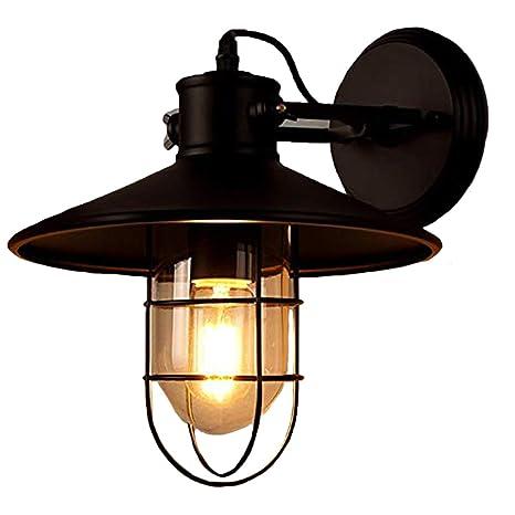 Lampada da parete nera camera da letto testiera lampada da ...