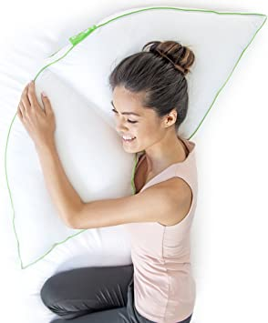 Amazon.com: Sleep Yoga - Almohada para dormir de lado - La ...