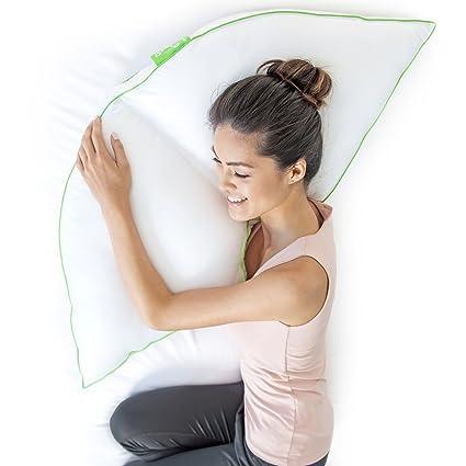 Amazon Com Sleep Yoga Side Sleeper Pillow The Best Side Sleeper