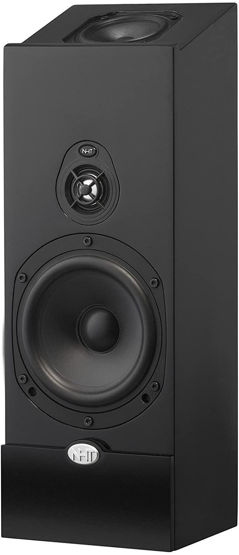 NHT Media Series 2-Way Dolby Atmos Satellite Speaker, Single Unit, High Gloss Black (MS - Satellite Black)