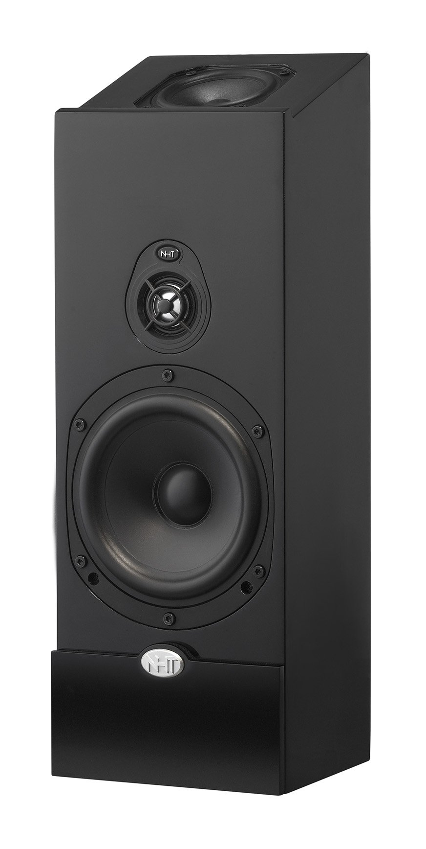 NHT Media Series 2-Way Dolby Atmos Satellite Speaker, Single, Single, High Gloss Black by NHT