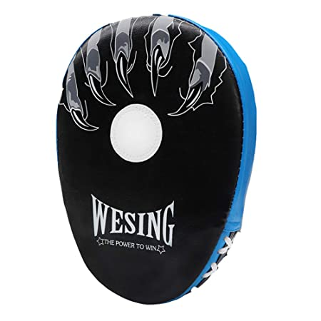 Amazon.com : Wesing Boxing Pads Focus Pounching Mitts MMA Muay Thai Curved Kickboxing Training Strike Target Hand Pads Punching Shield : Sports & Outdoors