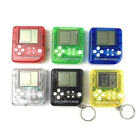 ZJL220 Consola de Juegos portátil Tetris Juguetes Llavero ...