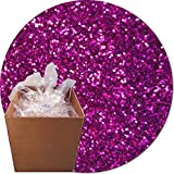 Glitter My World! Craft Glitter: 25lb Box: Magenta Magic