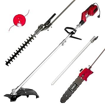 brast eléctrico Multi Tool 4 en 1 - Desbrozadora Cortasetos ...