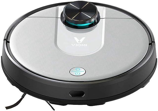 Robot aspiradora,VIOMI V2 Pro, Robot aspiradora de Barrido con trapeador, navegación láser Wi-Fi, Trapeado de Barrido 2 en 1,succión Fuerte en Todo el Piso y Control de Aplicaciones 3200mAh 2000Pa: Amazon.es: Hogar